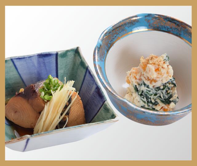 宮崎 寿司 寿し勝 日替わり小鉢2種